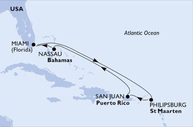Des îles majestueuses - CROISIÈRE AU DÉPART DE MIAMI (ÉTATS-UNIS) ,