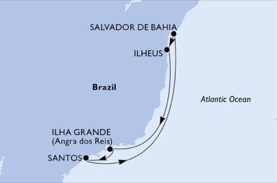 Brésil - Croisière Panorama des Plages Brésiliennes