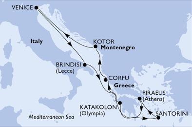 croisiere grece mai 2018