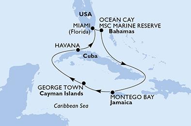 A LA CONQUÊTE DE CUBA - CROISIÈRE AU DÉPART DE MIAMI (ÉTAT-UNIS)