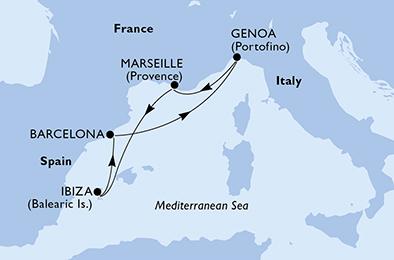 ESCAPADE A IBIZA - CROISIÈRE AU DÉPART DE GÊNES (ITALIE)