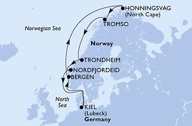 Croisière en Europe du Nord à bord du MSC Splendida - 2