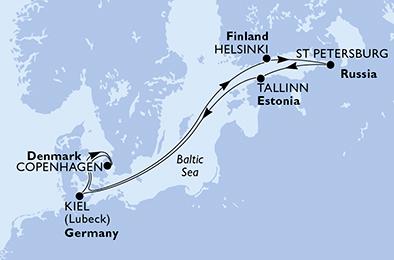 Croisière en Europe du Nord à bord du MSC Virtuosa - 2