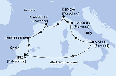Croisière en Méditerranée à bord du MSC Seaside - 2