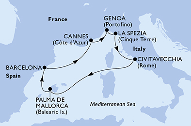 Croisière en Méditerranée à bord du MSC Grandiosa - 2