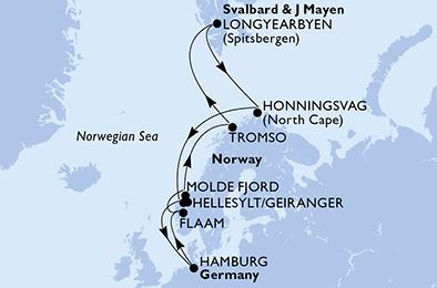 Croisière en Europe du Nord à bord du MSC Preziosa - 2