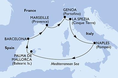 Croisière en Méditerranée à bord du MSC Fantasia - 3
