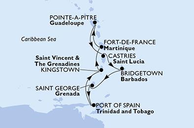 Croisière aux Antilles à bord du MSC Seaview - 2