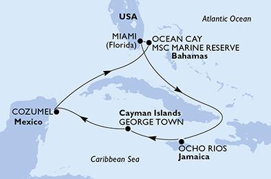 Croisière aux Caraïbes à bord du MSC Seashore - 3
