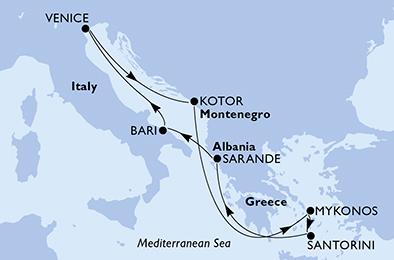 Croisière en Méditerranée à bord du MSC Sinfonia - 2