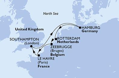 Croisière en Europe du Nord à bord du MSC Magnifica - 2