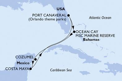Croisière au Caraïbes à bord du MSC Divina - 2