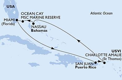 Croisière en Caraïbes à bord du MSC Meraviglia - 2