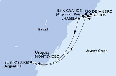 Croisière en Amérique du Sud à bord du MSC Orchestra - 3