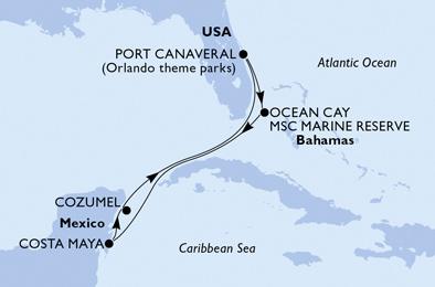 Croisière aux Caraïbes à bord du MSC Divina - 3