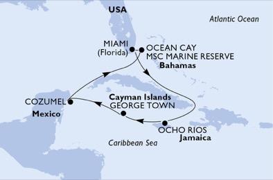 Croisière aux Caraïbes à bord du MSC Seashore - 4