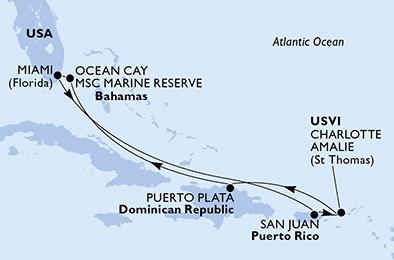 Croisière aux Caraïbes à bord du MSC Seashore - 2